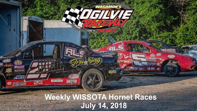 Ogilvie Raceway 7/14/18 WISSOTA Hornet Races