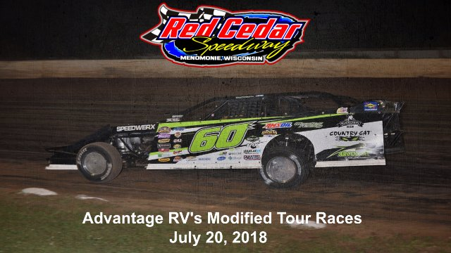 Red Cedar Speedway 7/20/18 Advantage RV's Modified Tour