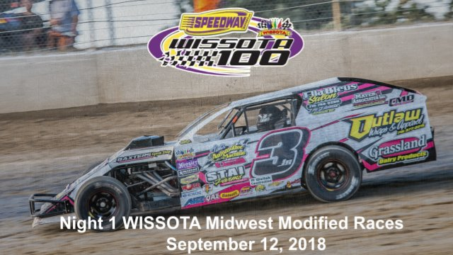 I-94 Speedway 9/12/18 WISSOTA Midwest Modified Races