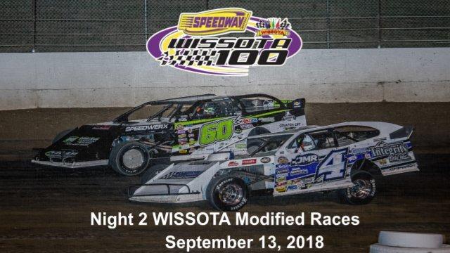 I-94 Speedway 9/13/18 WISSOTA Modified Races