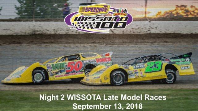I-94 Speedway 9/13/18 WISSOTA Late Model Races