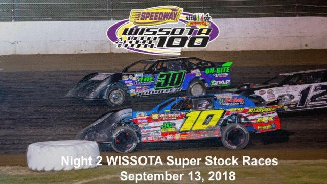 I-94 Speedway 9/13/18 WISSOTA Super Stock Races