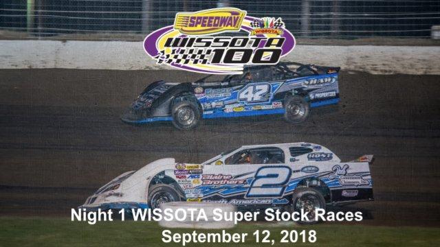 I-94 Speedway 9/12/18 WISSOTA Super Stock Races
