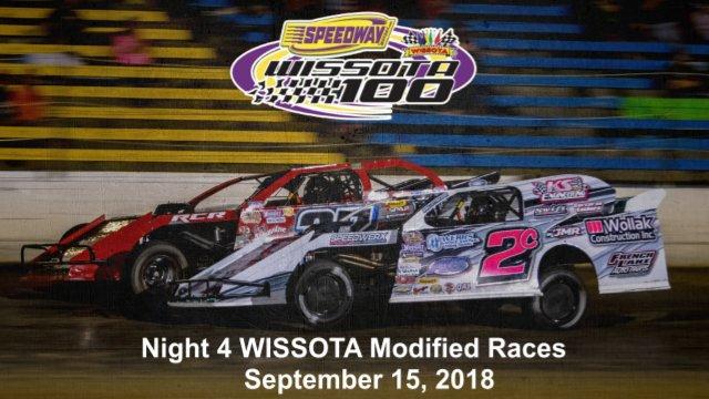 I-94 Speedway 9/15/18 WISSOTA Modified Races