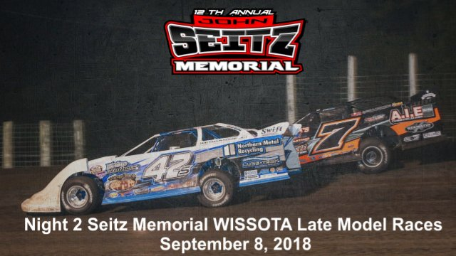 River Cities Speedway 9/8/18 WISSOTA Late Model Races