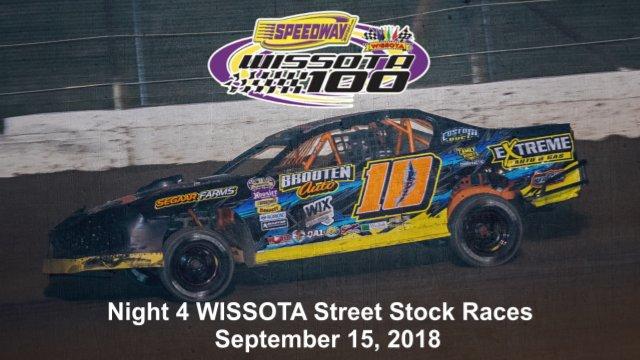 I-94 Speedway 9/15/18 WISSOTA Street Stock Races