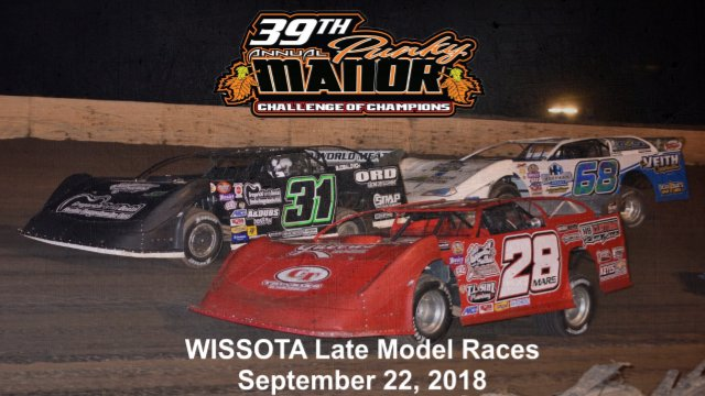 Red Cedar Speedway 9/22/18 WISSOTA Late Model Races