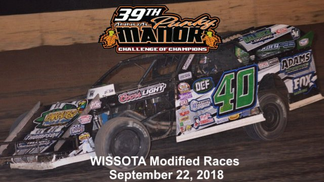 Red Cedar Speedway 9/22/18 WISSOTA Modified Races