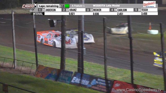 Casino Speedway 7/12/20 WISSOTA Late Model Races