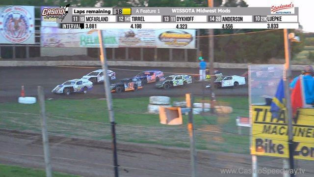 Casino Speedway 7/12/20 WISSOTA Midwest Modified Races