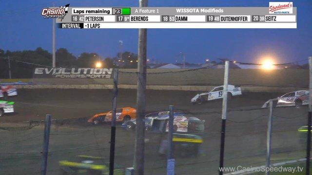 Casino Speedway 7/12/20 WISSOTA Modified Races