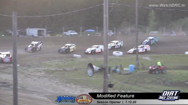 Bemidji Speedway 7/12/20 WISSOTA Modified Races