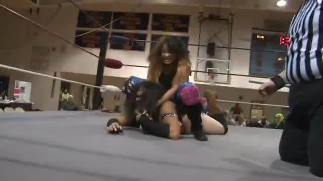 2014 Wrestling for a Cure: Women's Title Match, Amber Rodriguez v. The native Beast Nyla Rose