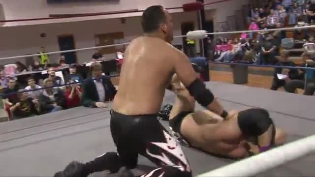 2015 Wrestling for a Cure:  Bazooka Joe Vs. Lazaro Ortiz