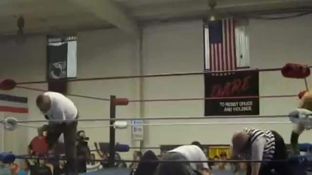 2013 Dave Duncan Memorial Tag Team Tournament: 3. Modern Day Warriors v. Aken Pembrooke and John Boy Justice