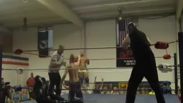 2013 Dave Duncan Memorial Tag Team Tournament: 4. El Chupacabra & Sustantivo v. a Mystery Team!