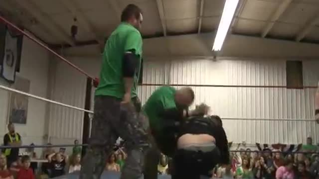 2013 Dave Duncan Memorial Tag Team Tournament: 8. El Chupacabra & Sustantivo v. Modern Day Wariors