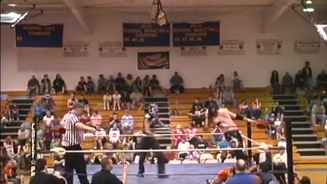 2011 - All or Nothing 5: Tag Team Ladder Match for Vacant Title: Bay City Thrashers v. El Diablo Cross and Big Budda
