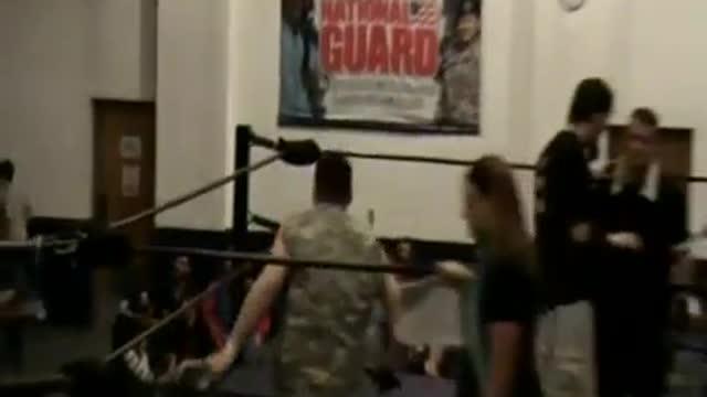 2010 Warpath from Keyser, WV:  Feature Match - Bazooka Joe v. Tatanka for the Heavyweight Championship!