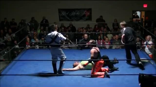 Pain vs. Family Jules (Tag Team Championships) Nov 2013