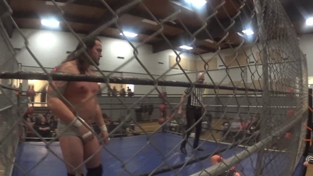 PPW Powerslam Steele Cage!