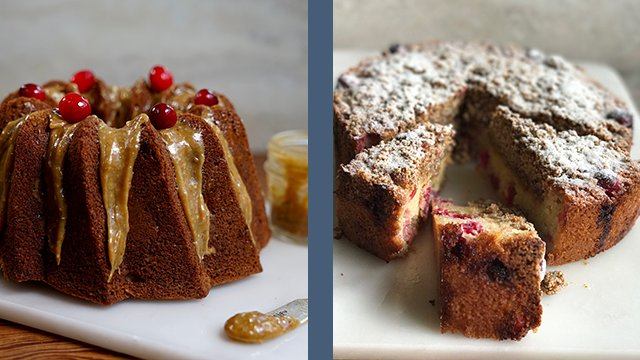 Coffee Cake and Bundt Cake - Webinar in English