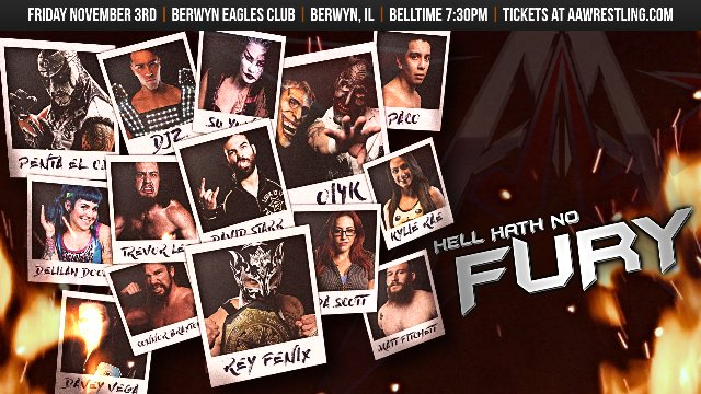 11/3/17 - Hell Hath No Fury - AAW Pro