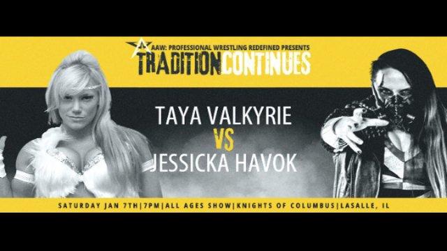 1.7.17 - Jessick Havok vs. Taya Valkyrie - AAW Pro
