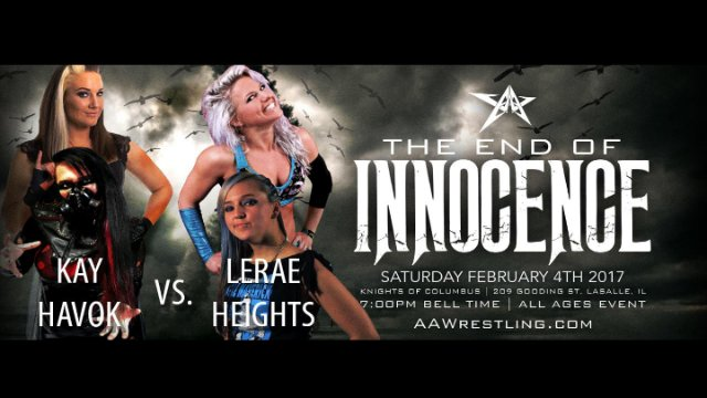 2.4.17 - Jessicka Havok/Allysin Kay vs. Candice LeRae/Samantha Heights - AAW Pro