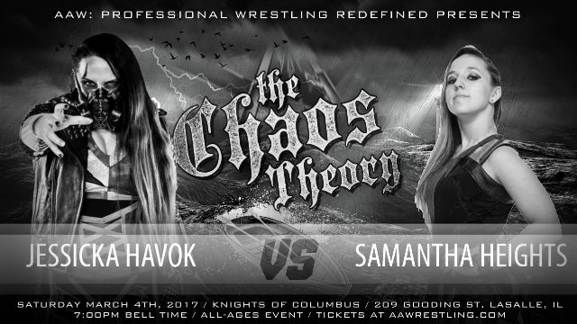 3.4.17 - Jessicka Havok vs. Samantha Heights - AAW Pro