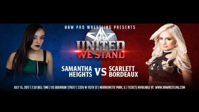 7.15.17 - Samantha Heights vs. Scarlett Bordeaux - AAW Pro