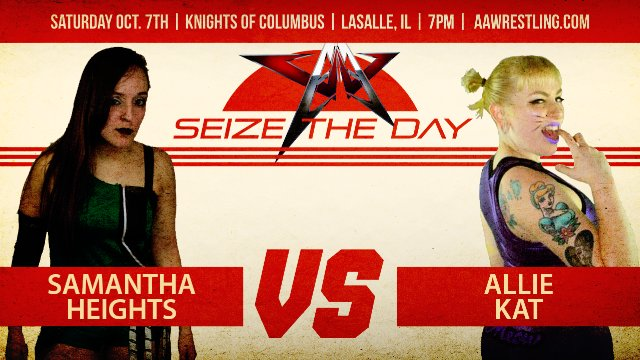 10.7.17 - Samantha Heights vs. Allie Kat - AAW Pro