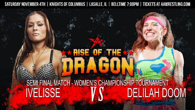 11.4.17 - Ivelisse vs. Delilah Doom - Semi Final - AAW Women's Championship Tournament