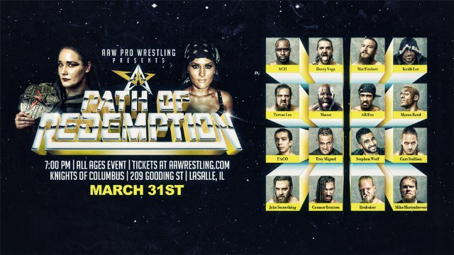 3.31.18 - Path of Redemption - AAW Pro