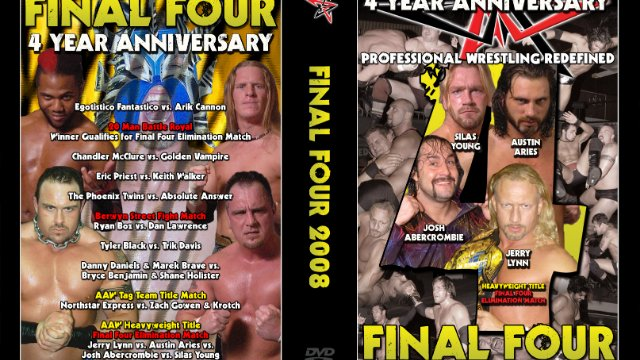 3.8.08 - 4 Year Anniversary - AAW Pro