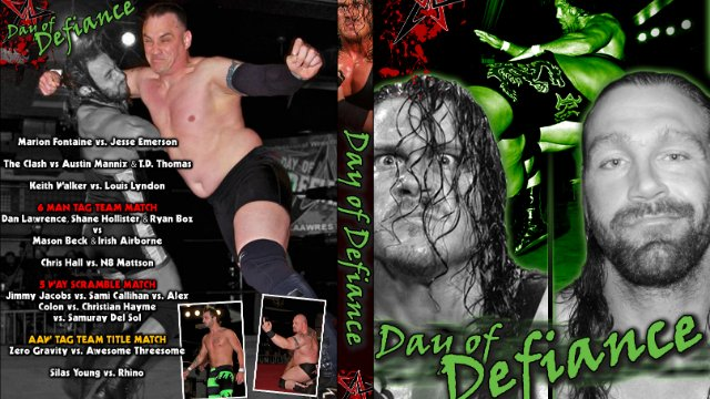 6.17.11 - Day of Defiance - AAW Pro