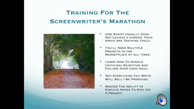 So you want to be a screenwriter. Now what?