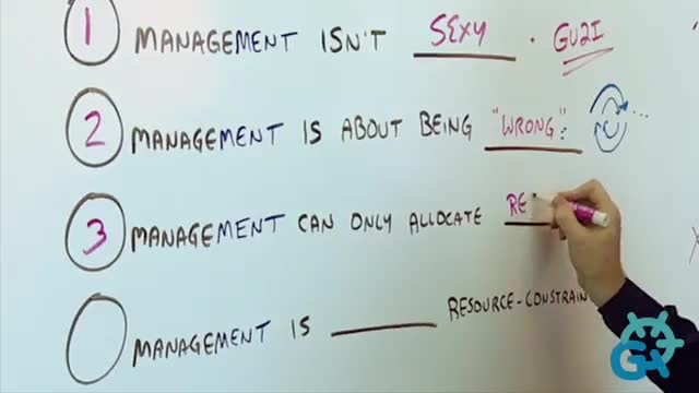 Four Horrible Truths of  Management