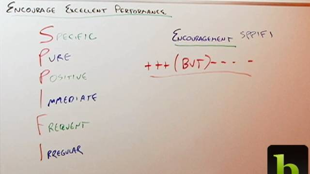 Encourage Excellent Performance