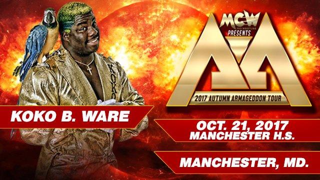 MMCW Autumn Armageddon 2017 - Manchester MD