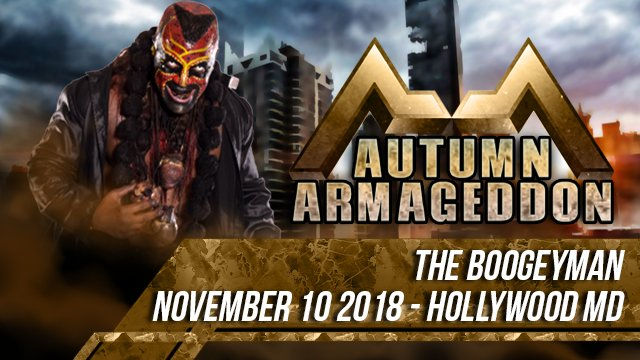 Autumn Armageddon 2018 - Hollywood MD