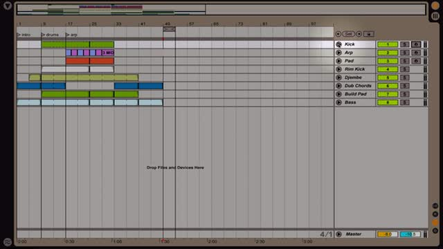 Ableton Live - Intro to the Arrangement View