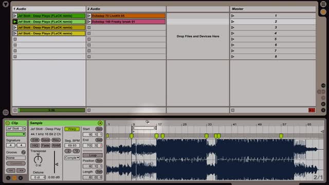 Ableton Live - The Art of Warping: Warping a Full Song