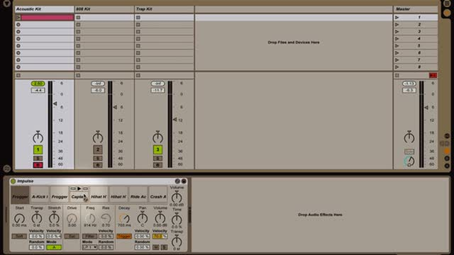 Ableton Live - Intro to Instruments: Beat Creation with Impulse