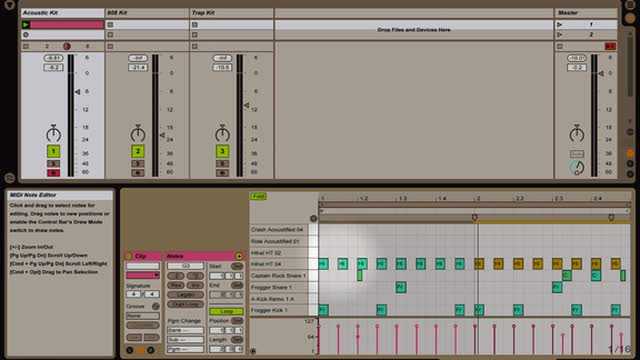 Ableton Live - Intro to Instruments: Impulse Drum Machine: A Deeper Look