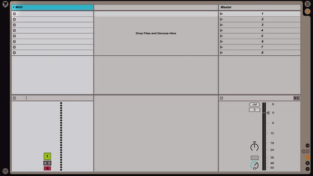 Ableton Live - Intro to MIDI: Recording Clips w Impulse