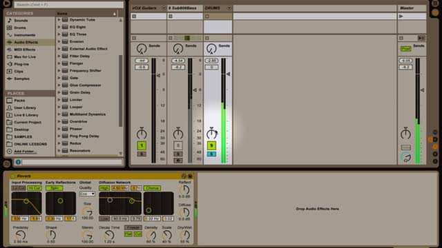 Ableton Live -Intro to Mixing and Effects Part 2