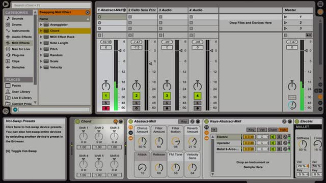 Ableton Live - Library Navigation Part 2
