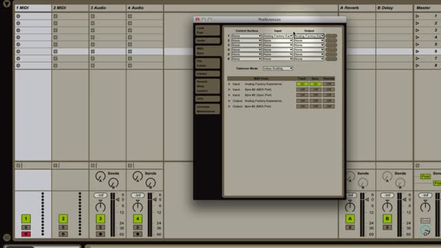 Ableton Live - Preferences Overview