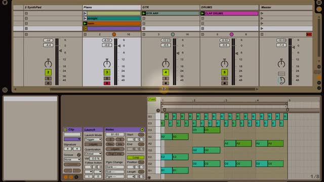 Ableton Live - Intro to Instruments: Simpler Part 2
